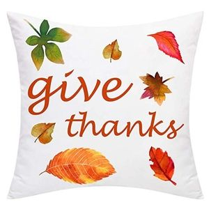 """⭐NEW⭐ - 🍂""""Give Thanks"""" Pillow - 18X18"""